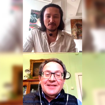 Новость: Прямой эфир с учителем йоги Феликсом Паком